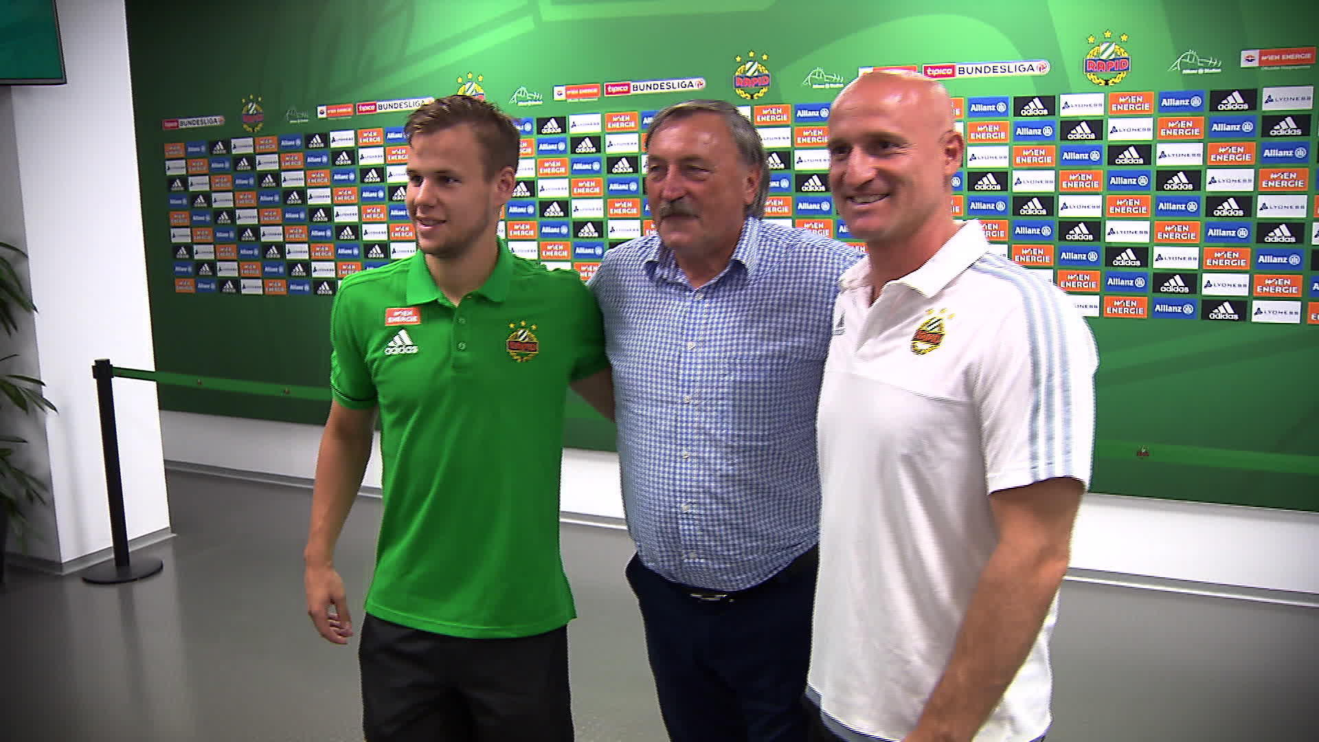 SK Rapid Wien vs. AS Monaco – Eine Legende gibt sich die Ehre