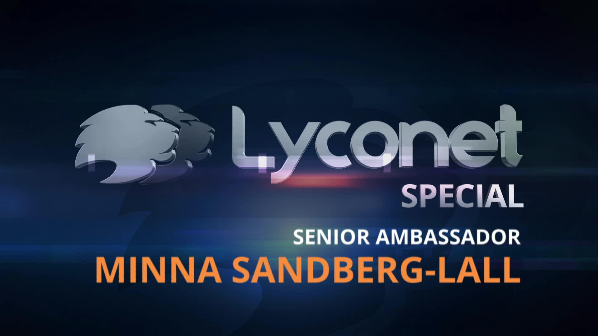 Senior Ambassador - Minna Sandberg-Lall