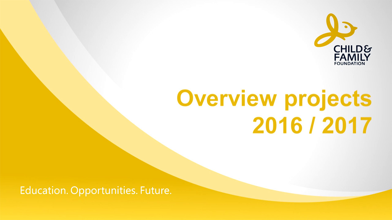 Overview projects 2016/2017