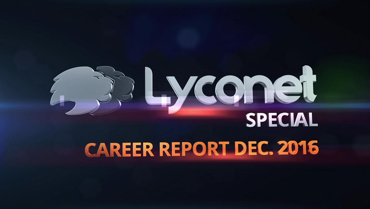 Career Report Dec. 2016