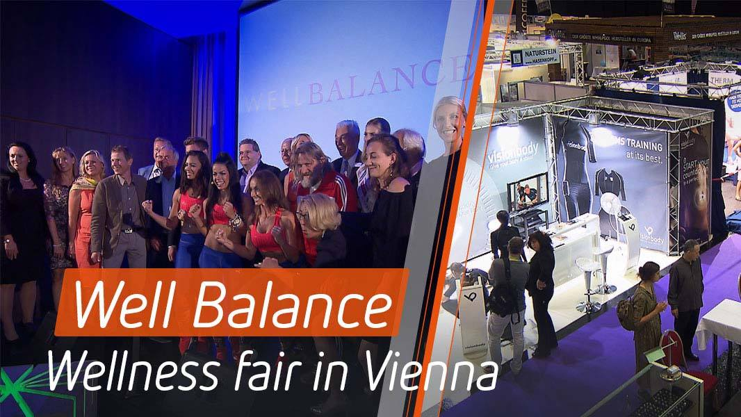 Well Balance – Celebrity meeting at the wellness fair in Vienna