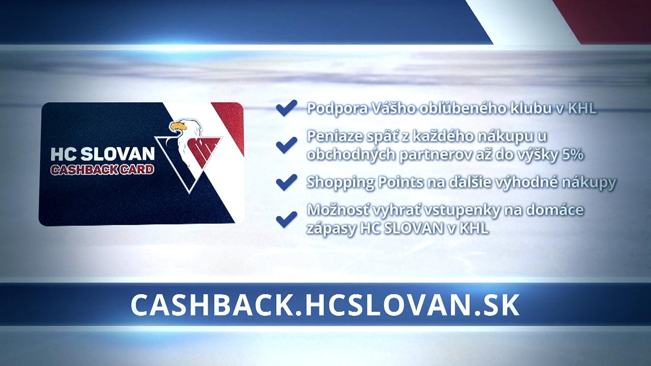 HC SLOVAN Cashback Card Teaser