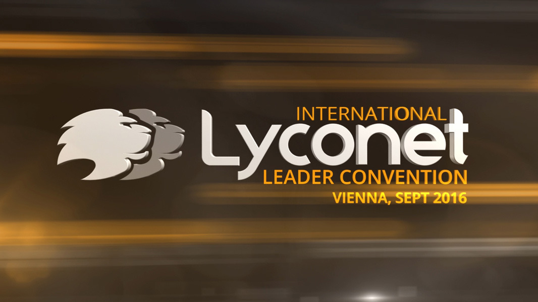 Lyconet Leader Convention - September 2016 - Vienna