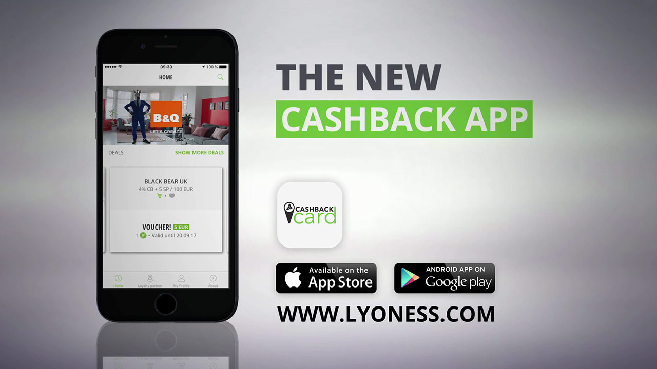 The new Cashback App