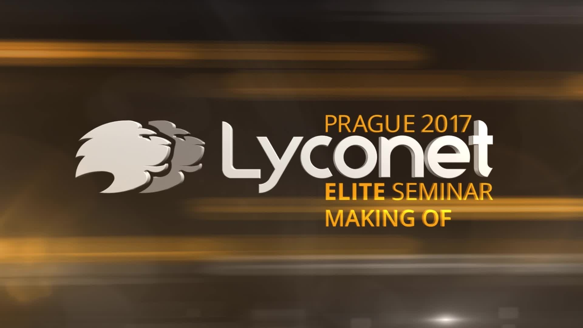 Making Of - Lyconet Elite Seminar Prague 2017