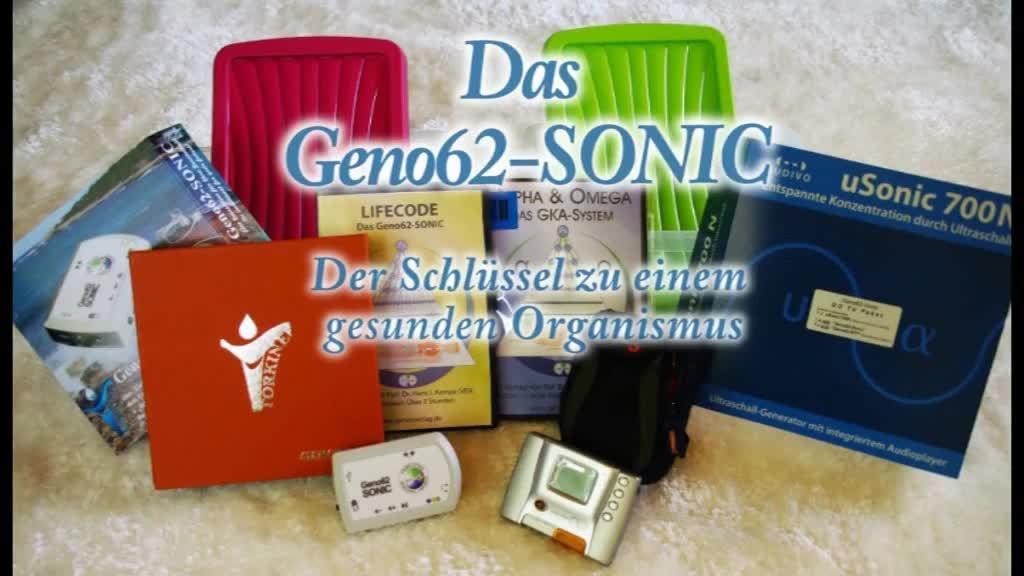 UR-Code im Geno62-Sonic