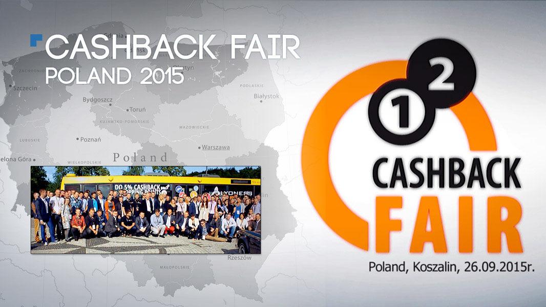 1st Cashback Fair Poland 2015