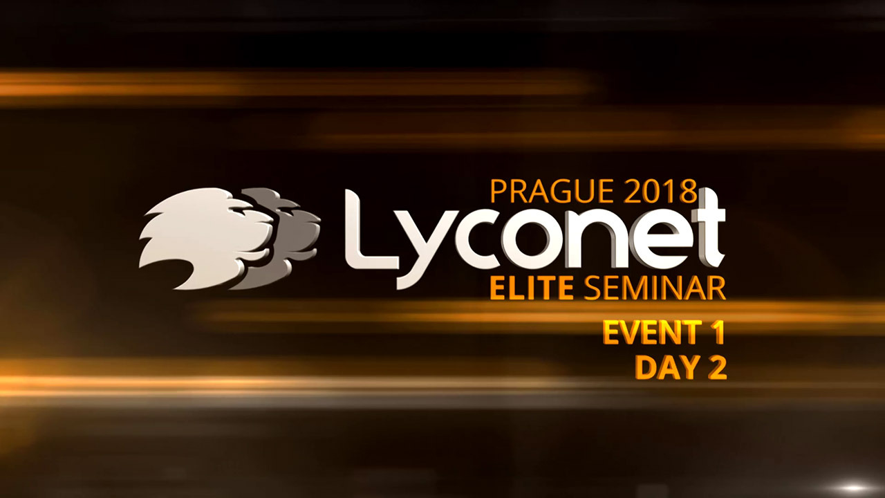 Lyconet Elite Seminar - Prague 2018 - Event 1, Day 2