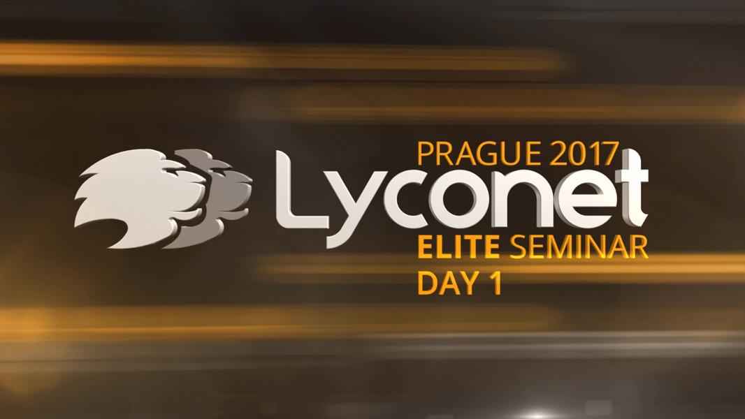 Lyconet Elite Seminar - Prague 2017 - Day 1