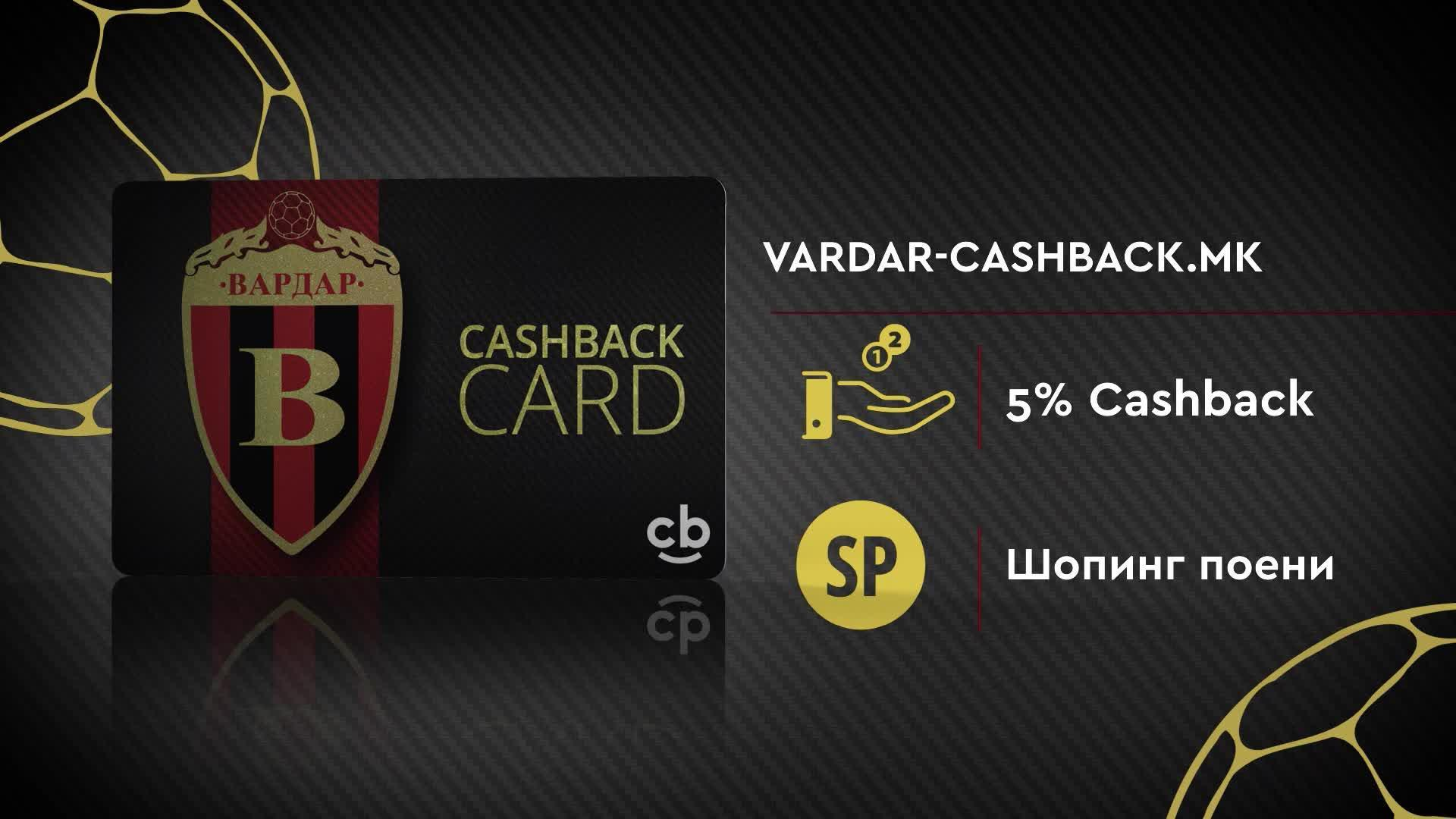 Vardar Cashback Card