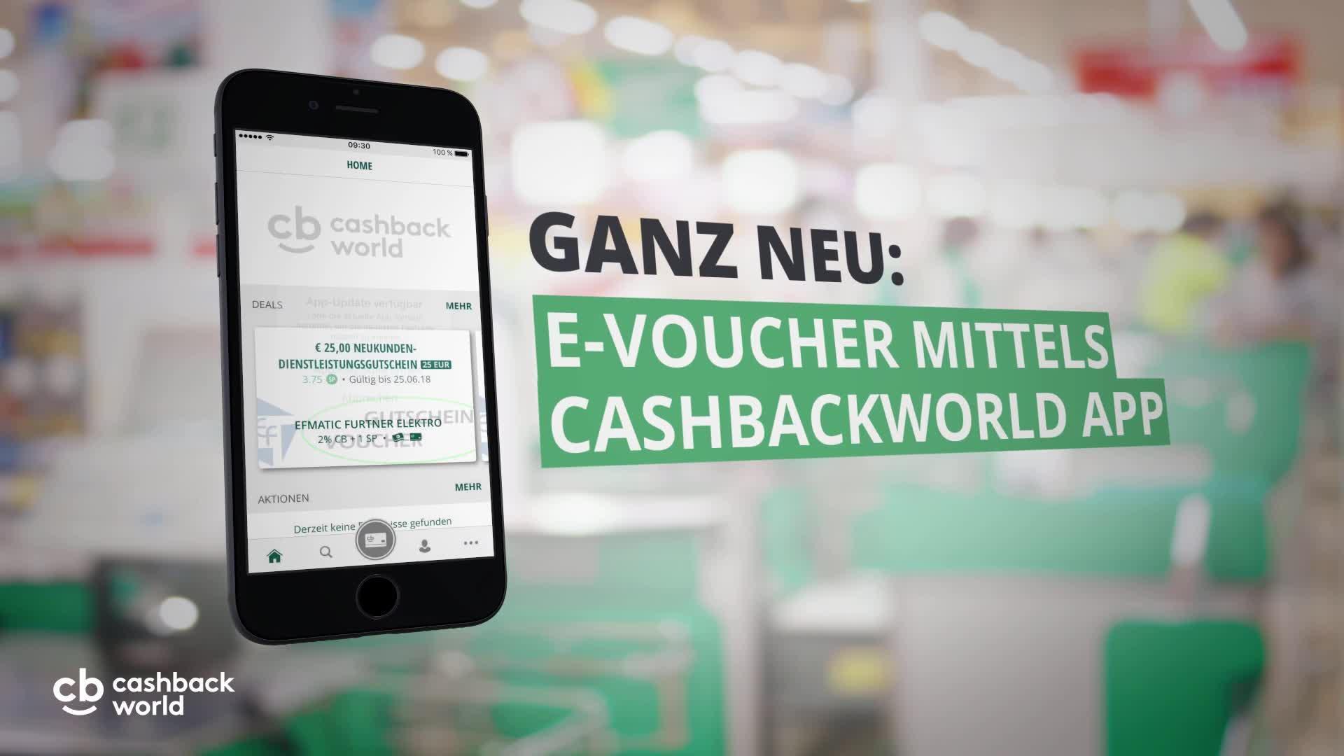 Die neue Cashback World App
