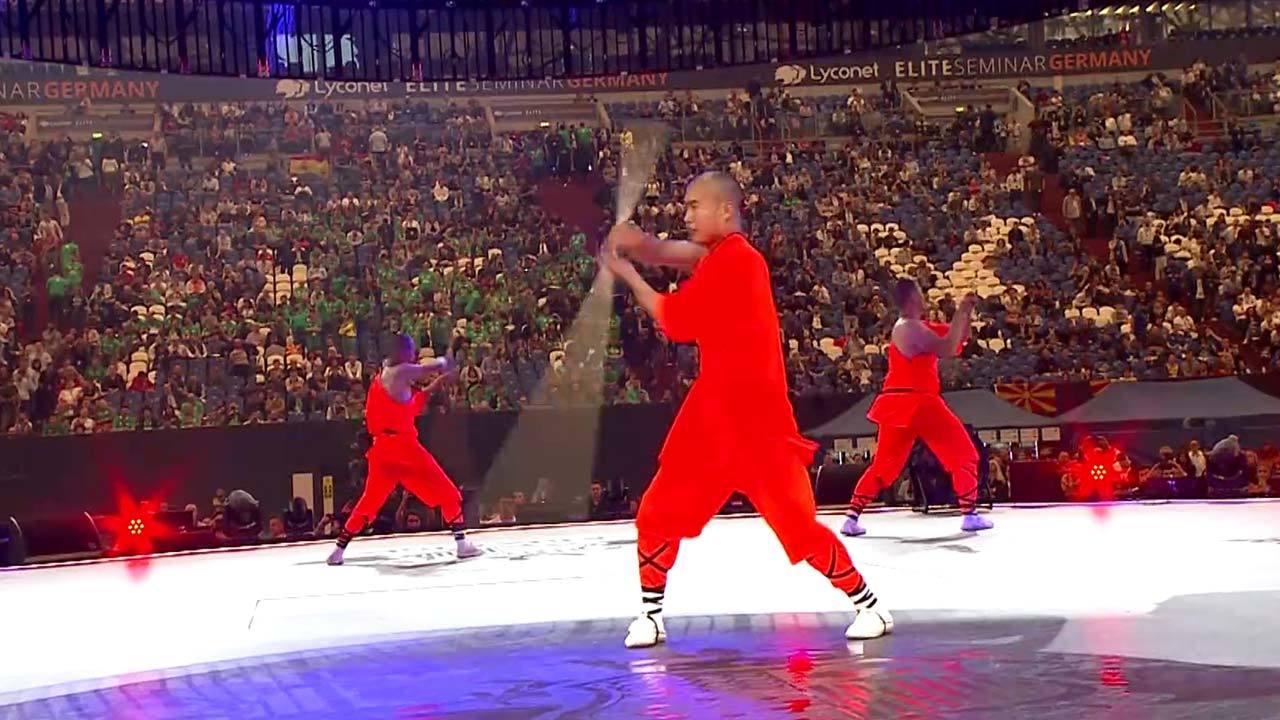 Shaolin Monks @Lyconet Elite Seminar
