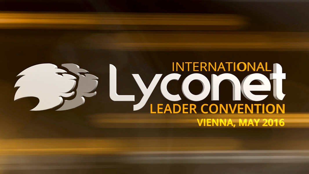 Lyconet Leader Convention - May 2016 - Vienna