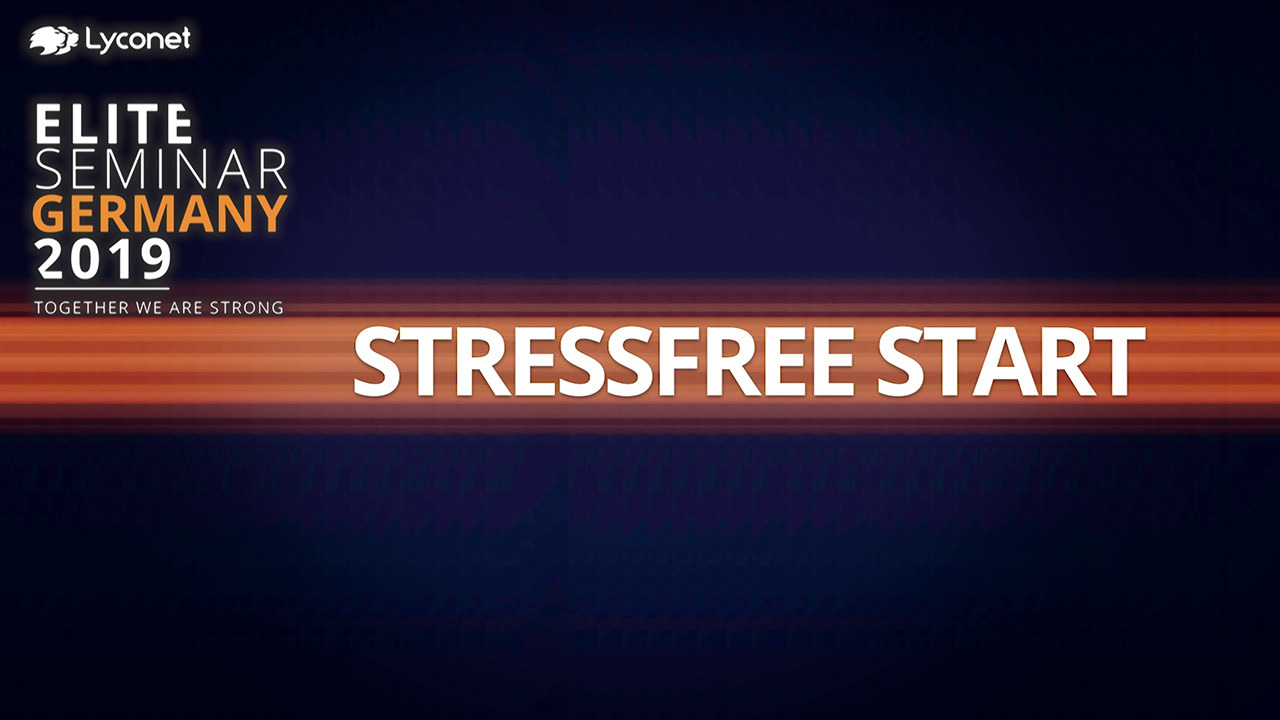 A stress-free start - Elite Seminar Germany 2019 – Explained by Norbert Oberhauser