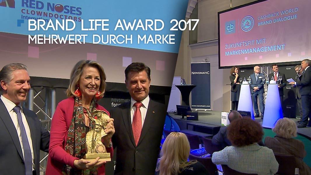 Brand Life Award 2017 – Mehrwert durch Marke
