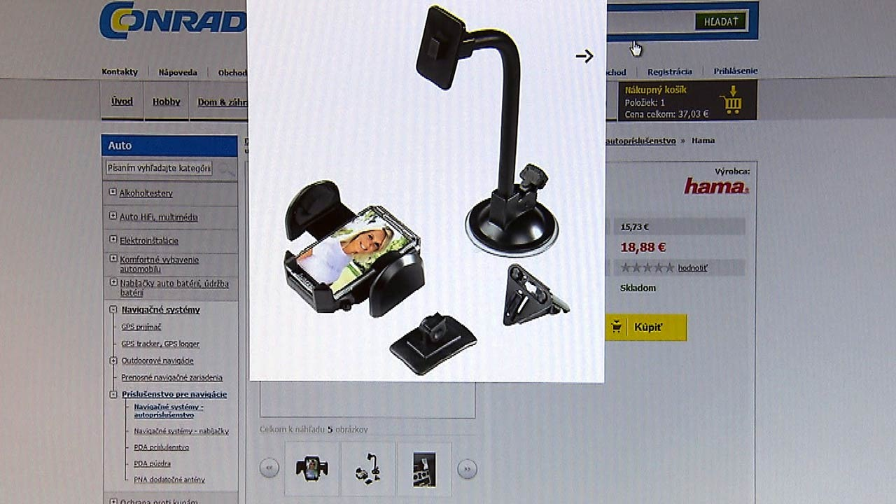 Compact: Conrad online shop, Slovakia