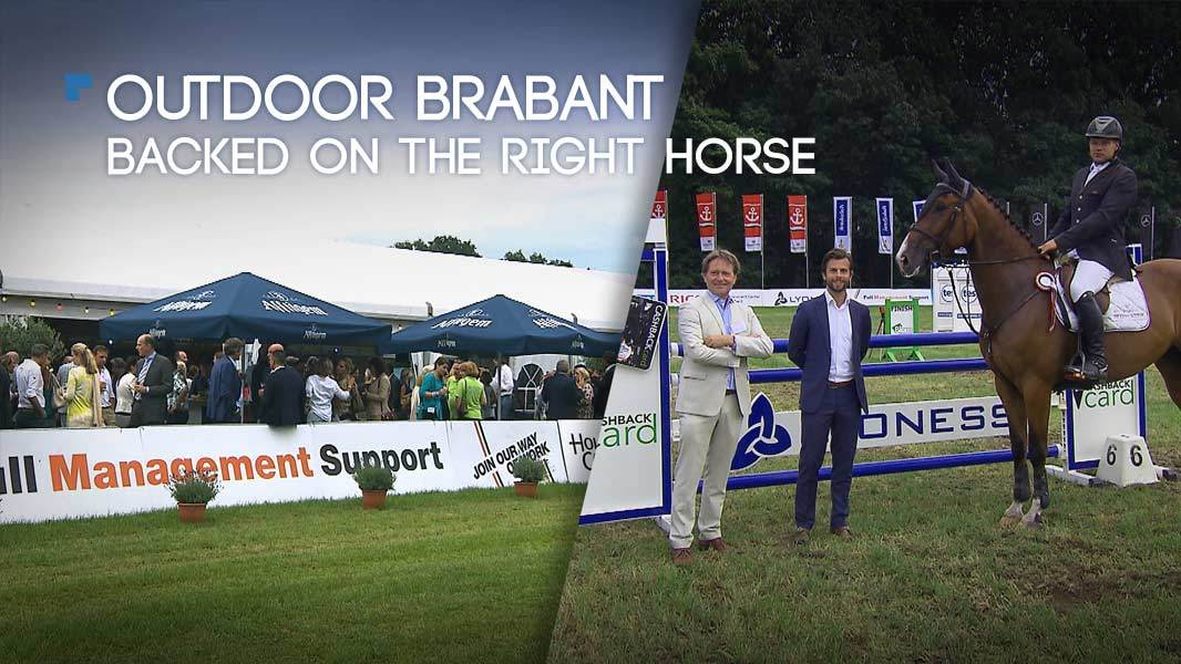 Outdoor Brabant – Backed on the right horse