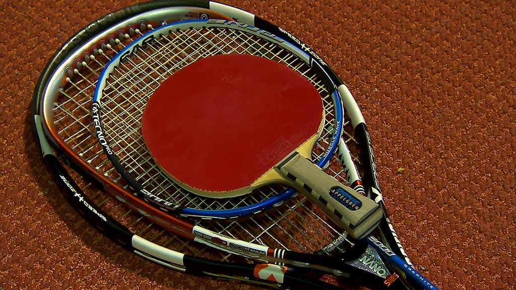 Four disciplines, four rackets, one result