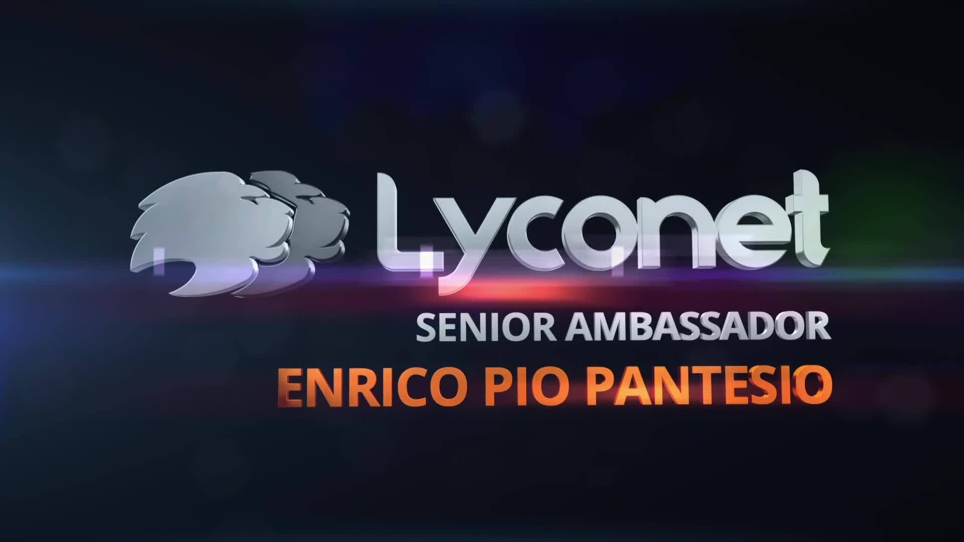 Senior Ambassador - Enrico Pio Pantesio