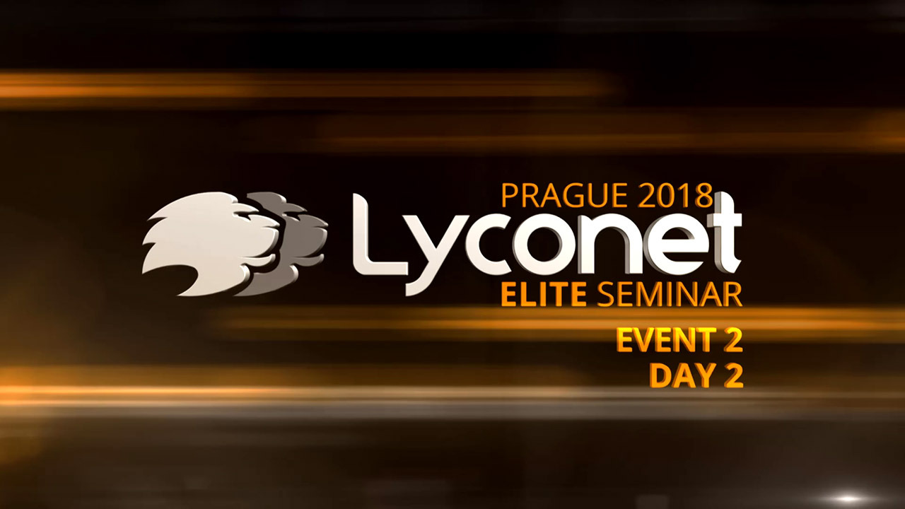 Lyconet Elite Seminar - Prague 2018 - Event 2, Day 2