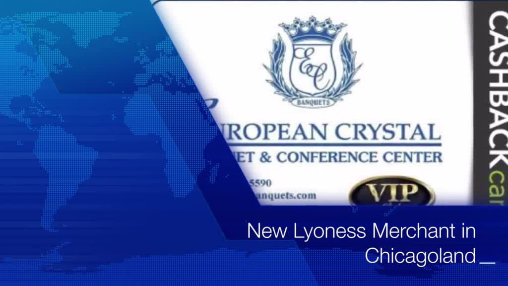New Merchant - European Crystal Banquets - Chicagoland