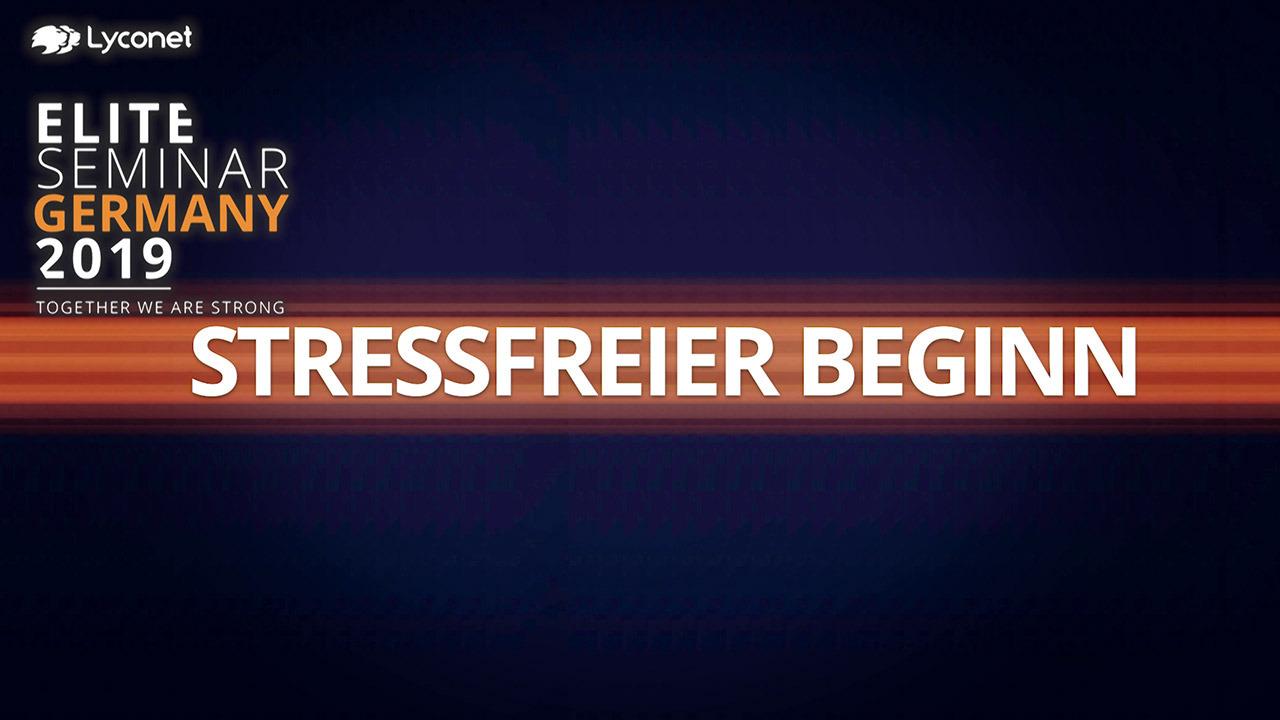 Stressfreier Beginn - Elite Seminar Germany 2019 – Erklärt von Norbert Oberhauser