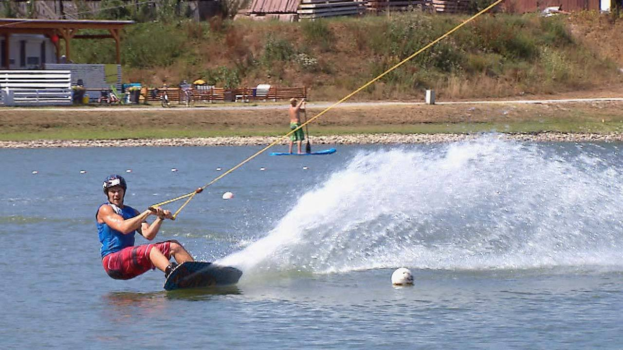 Wet and wild by wakeboard