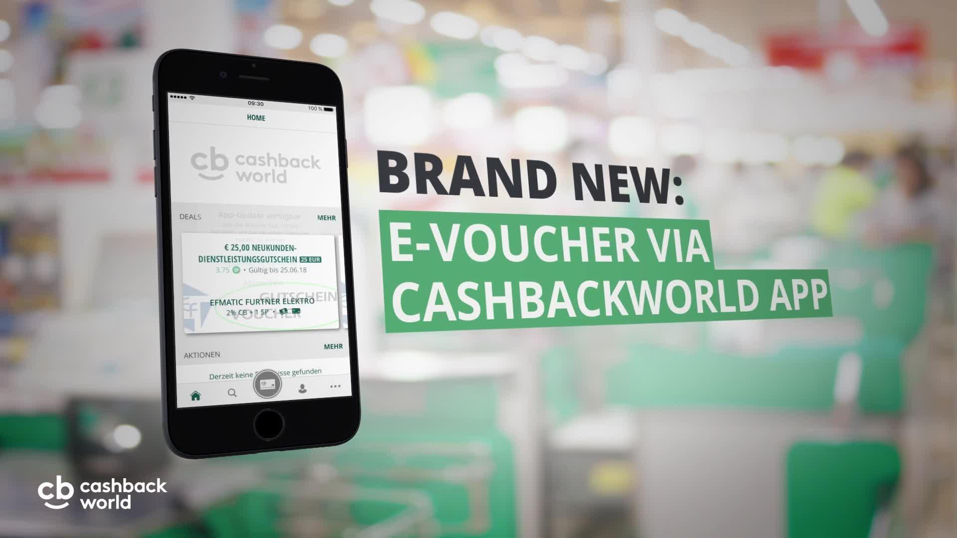 The new Cashback World App