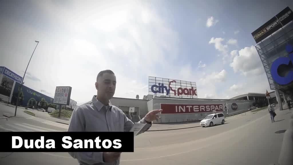 Duda Santos visita shopping em Liubliana - Eslovênia