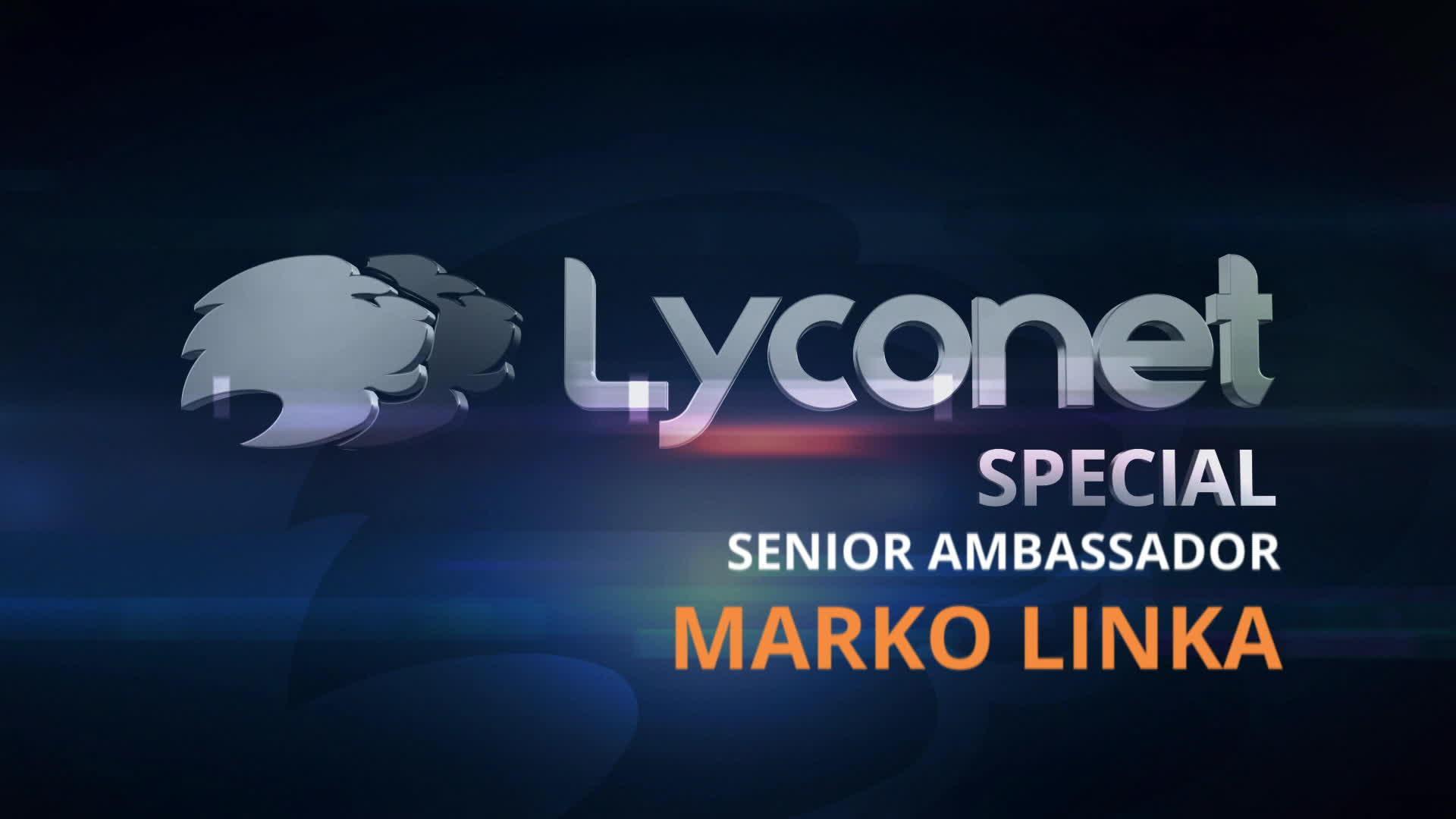 Senior Ambassador - Marco Linka
