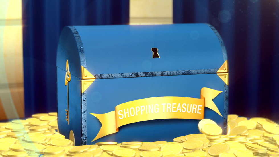 Shopping treasure draw November 2012.
