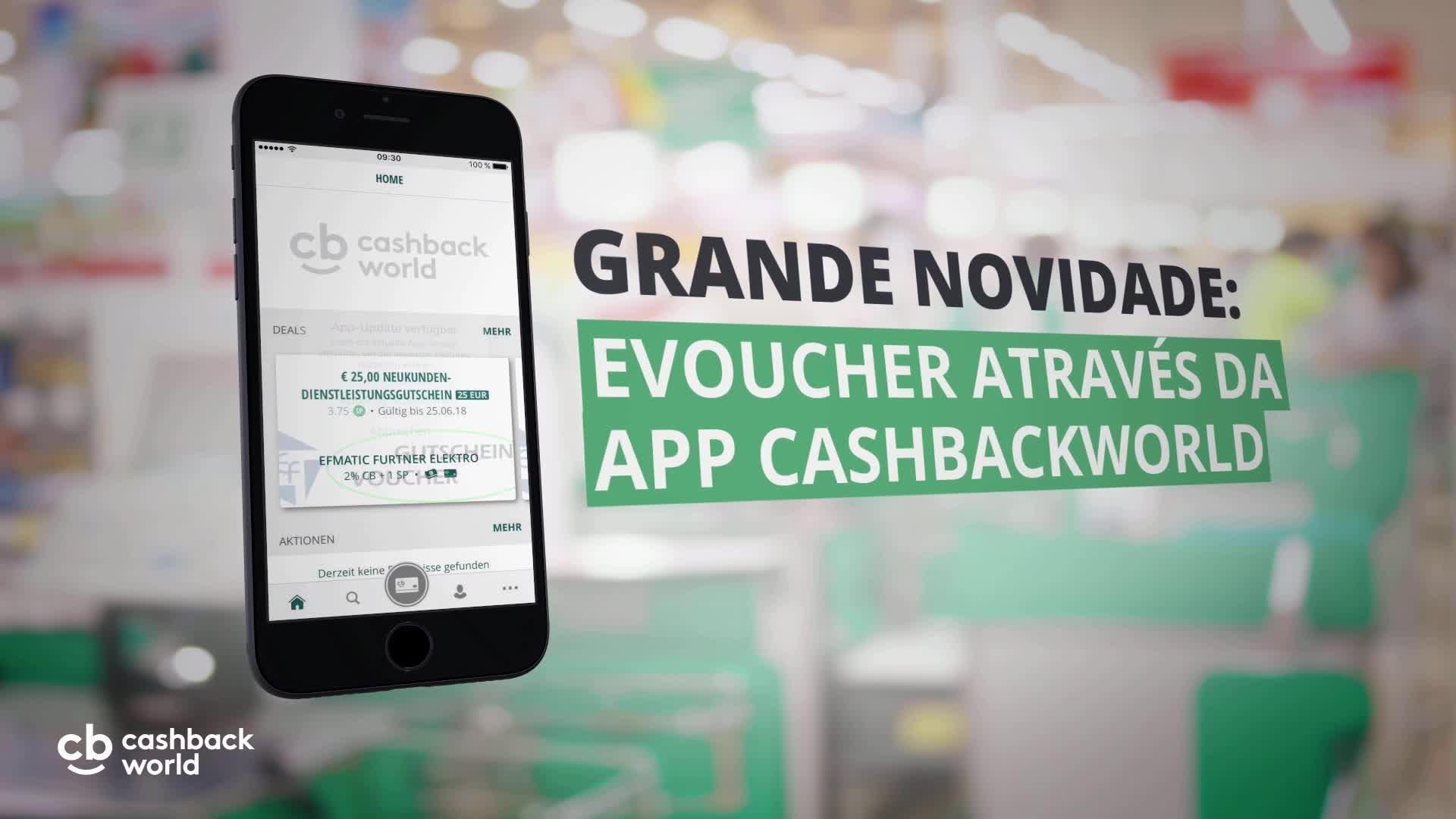 The new Cashback World App