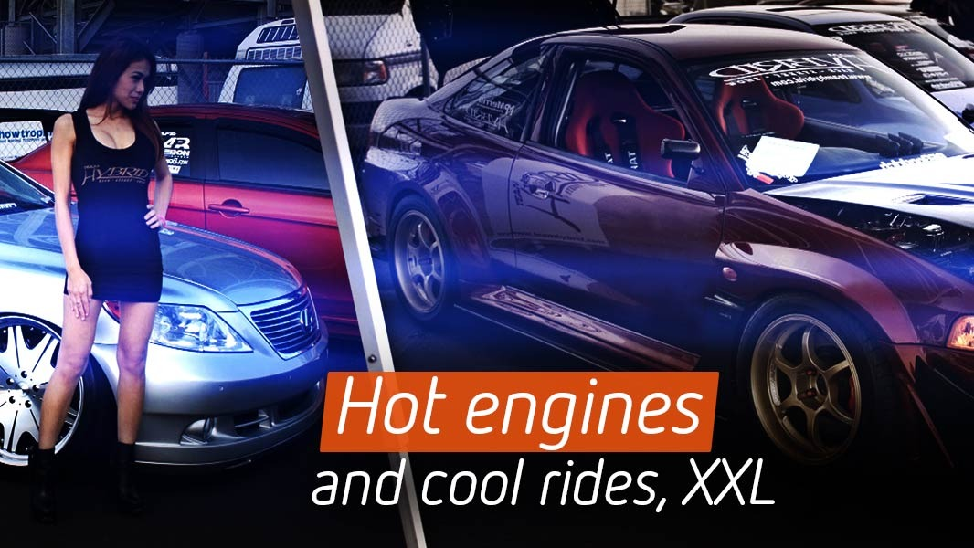 Hot engines and cool rides, XXL