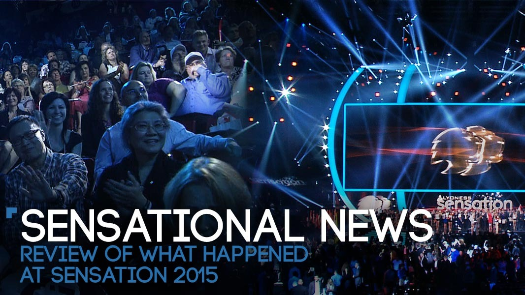 Sensational news – a quick review of what happened at Sensation 2015